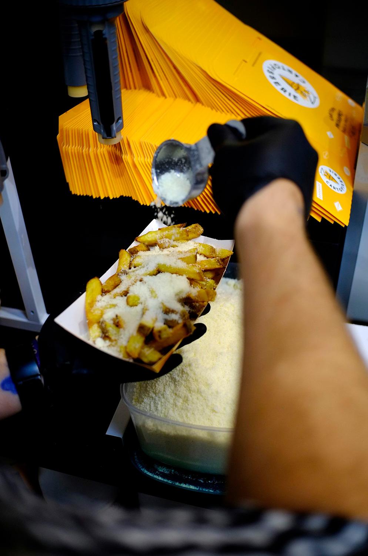 Delicii și arome Cartofisserie, în food court Iulius Mall Cluj