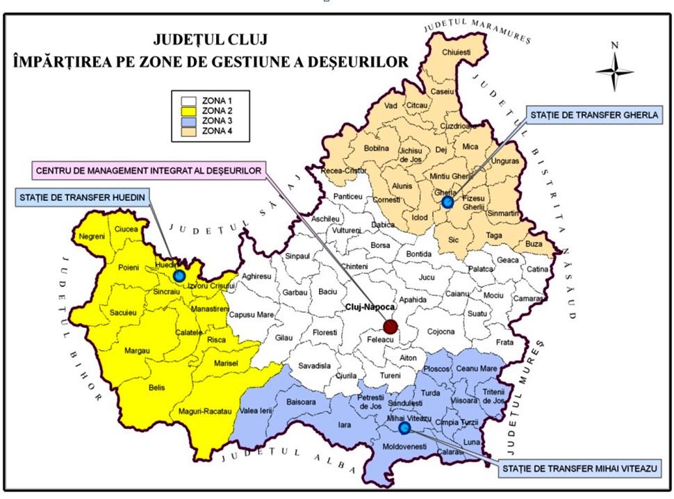 A fost lansată licitația pentru colectarea și transportul deșeurilor în județul Cluj, pentru următorii zece ani
