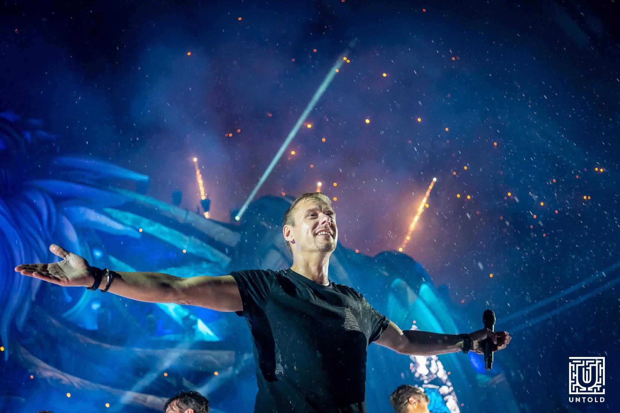 Live-ul lui Armin van Buuren de la UNTOLD este pe locul întâi în Top Billboard