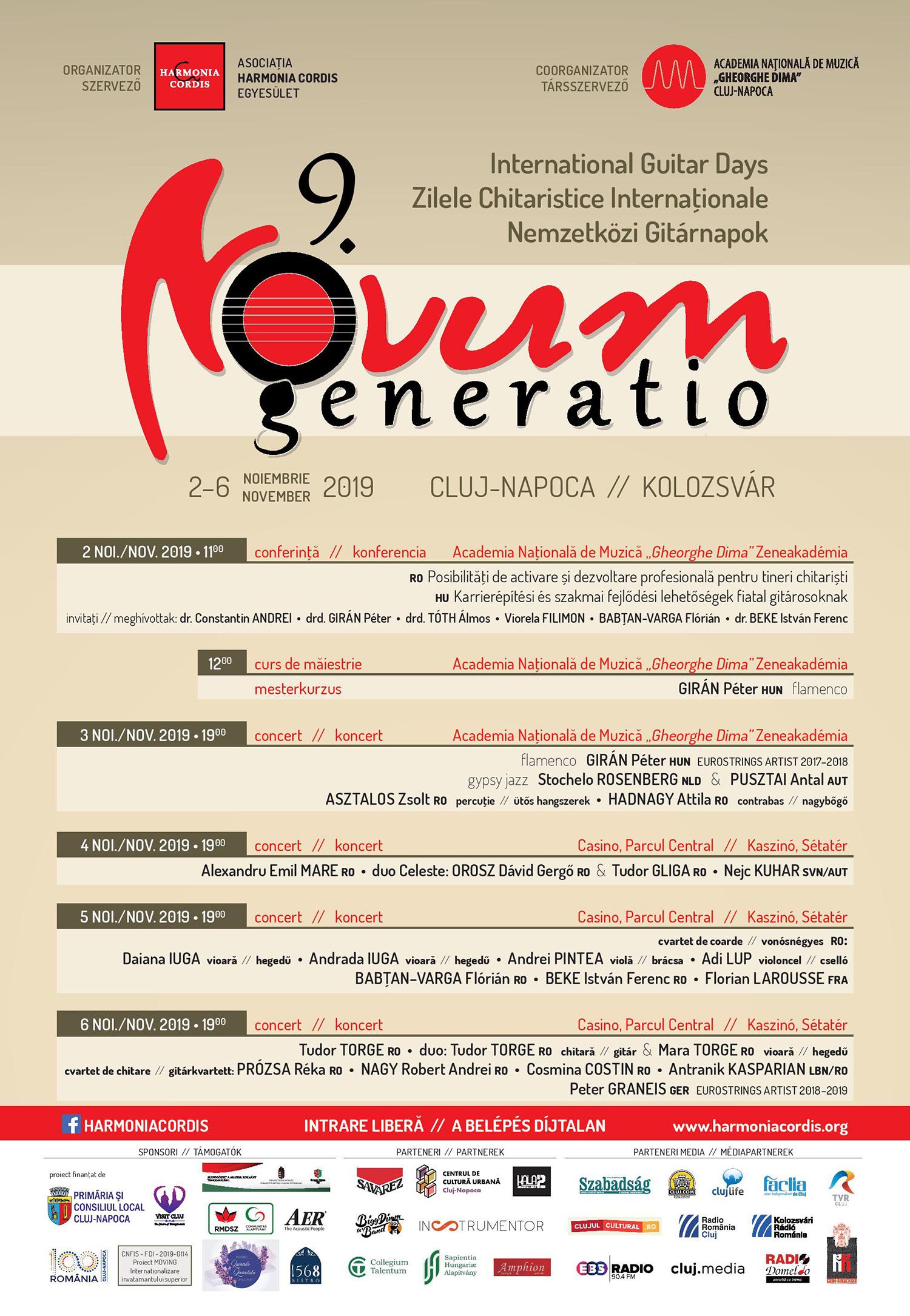Novum Generatio – Zilele Chitaristice Internaționale