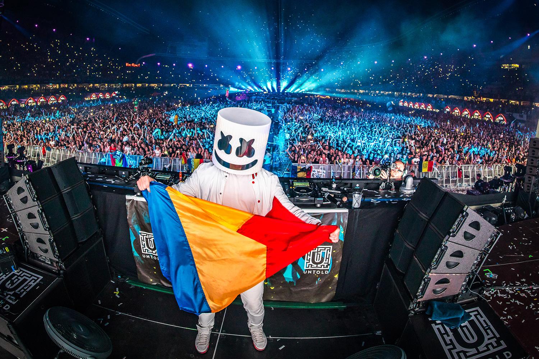 Primii zece DJ ai lumii au urcat pe scena  UNTOLD
