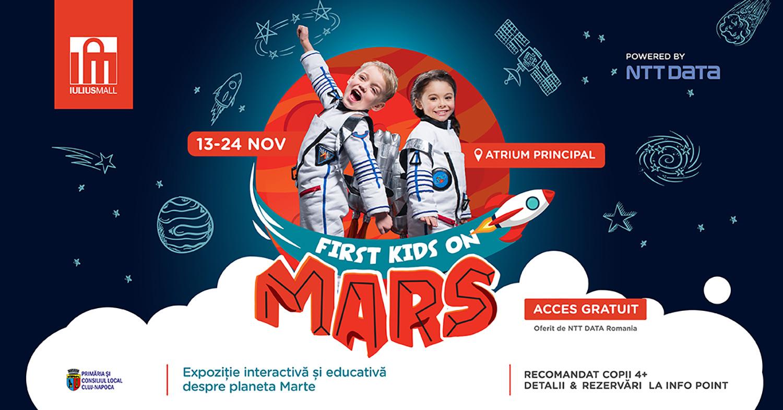 Călătorii pe Marte pentru prichindei, la Iulius Mall Cluj