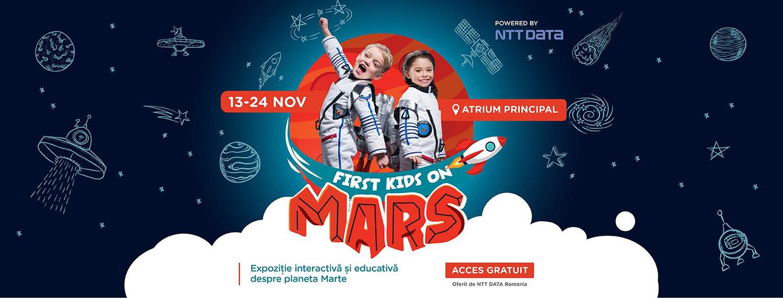 Descoperă planeta Marte, la Iulius Mall Cluj