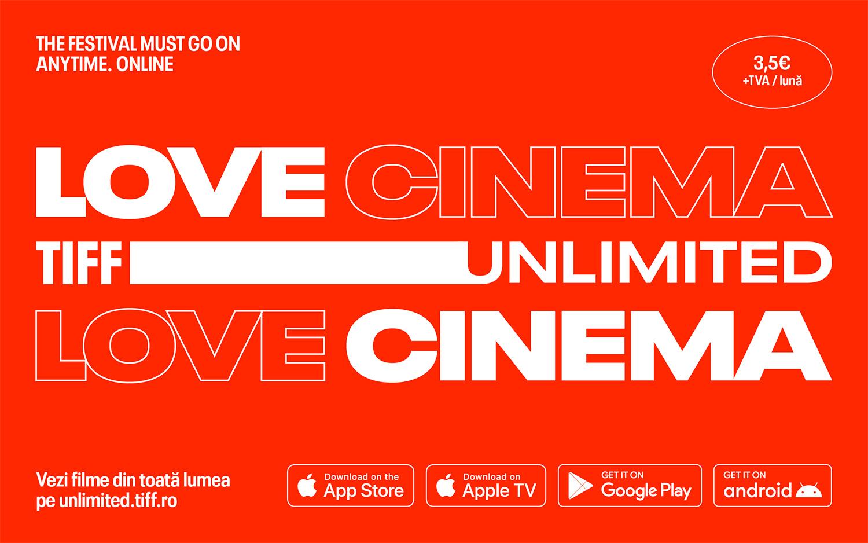 TIFF Unlimited, platforma de streaming online a Festivalului Internațional de Film Transilvania, lansează aplicațiile iOS, Android, Apple TV și Android TV