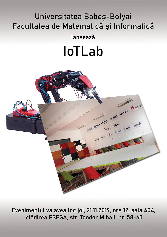 UBB inaugurează laboratorul IoTLab (Internet of Things Lab)