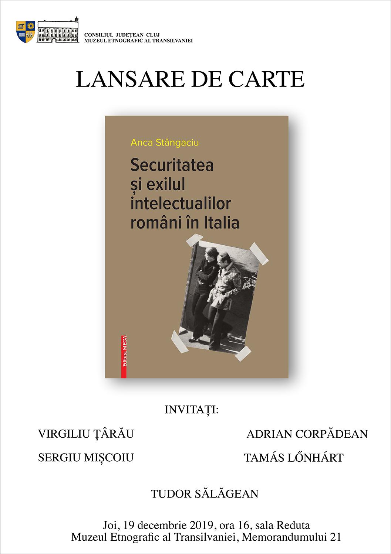 Securitatea și exilul intelectualilor români în Italia
