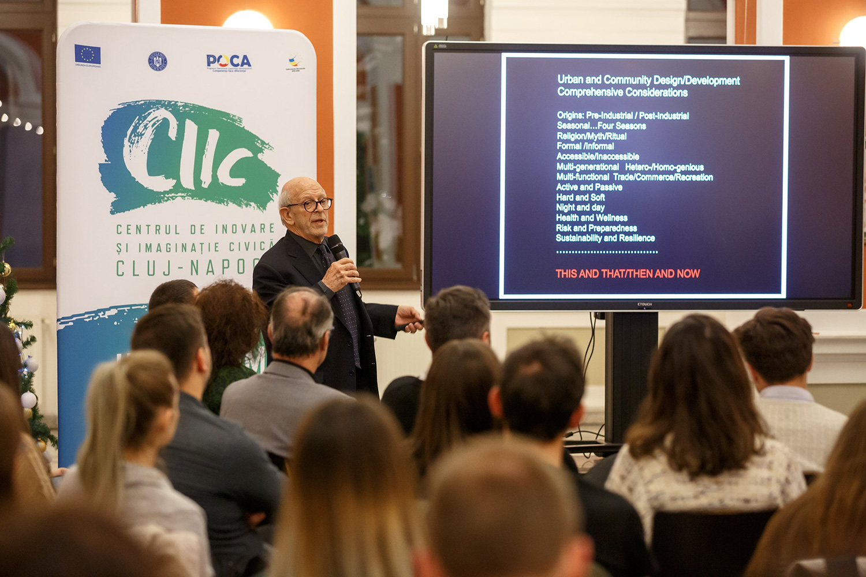Evoluția spațiului public clujean analizată cu ocazia primei dezbateri CIIC