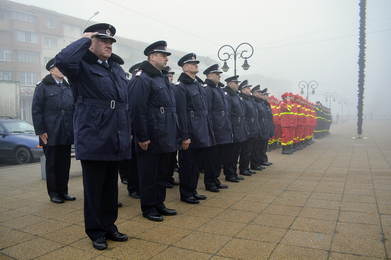 70 de ani de la înființarea Detașamentului de Pompieri Huedin