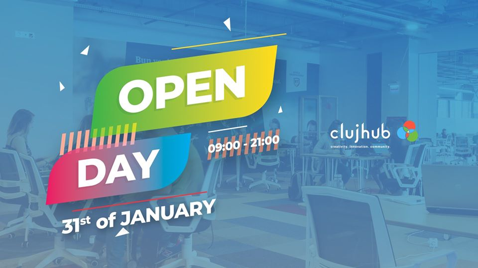 ClujHub Open Day | January