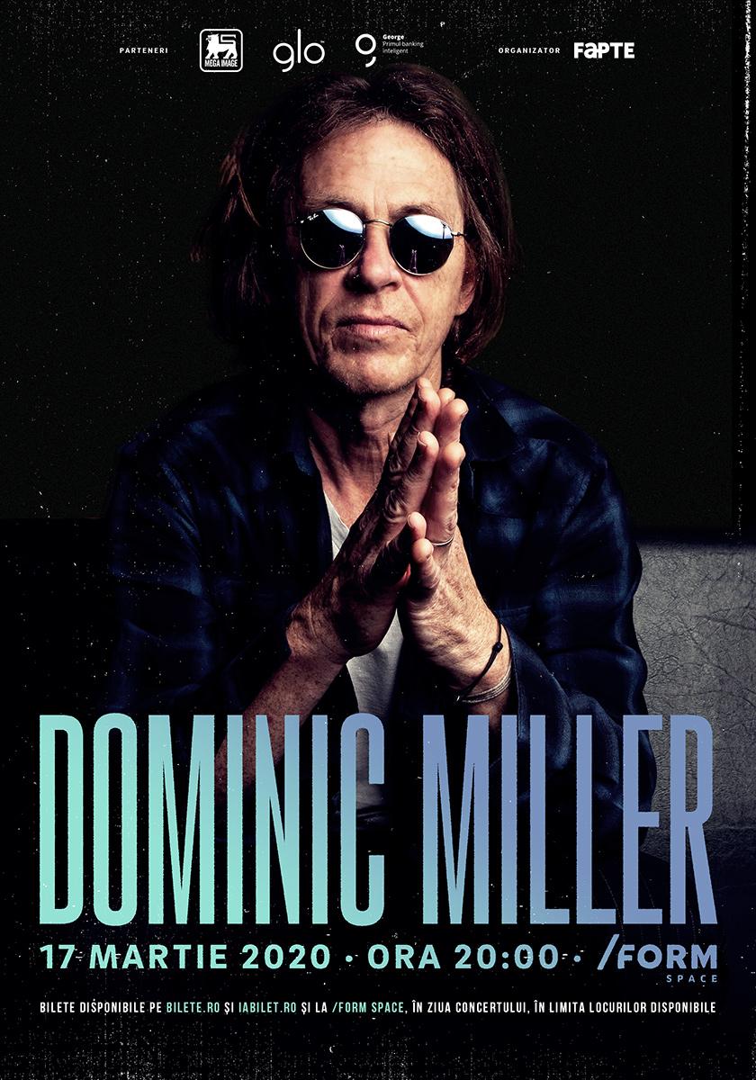 Dominic Miller, chitaristul lui Sting,  pentru a doua oară în concert la Cluj