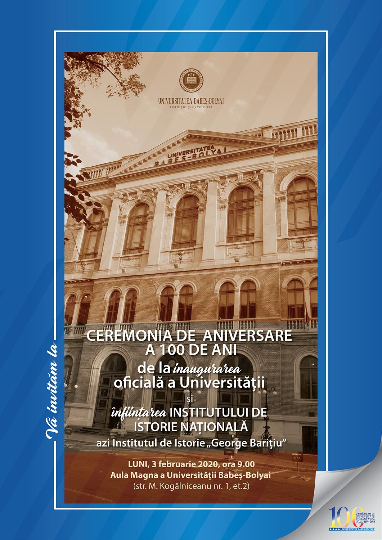 Un secol de învățământ universitar românesc și de instituționalizare a cercetării istorice în Transilvania