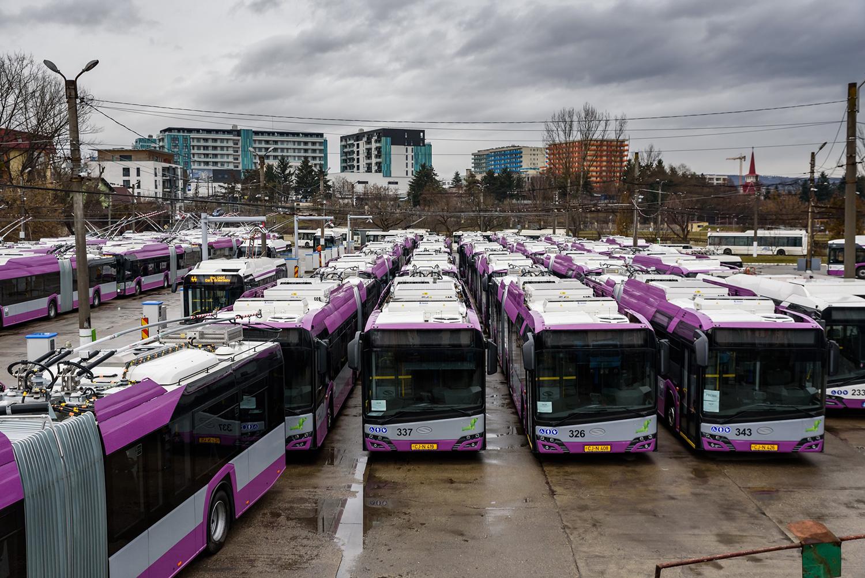25 de troleibuze noi au fost puse în circulație în Municipiul Cluj-Napoca