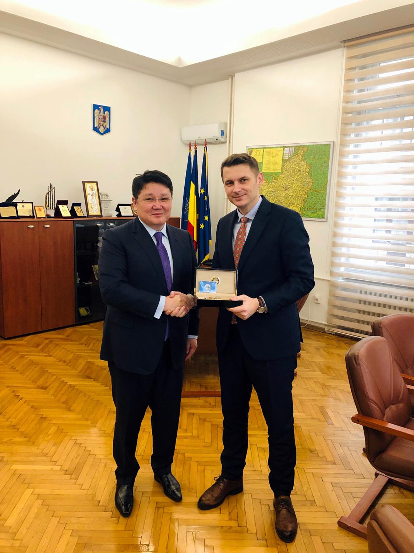 Ambasadorul Republicii Kazahstan în vizită oficială la Cluj