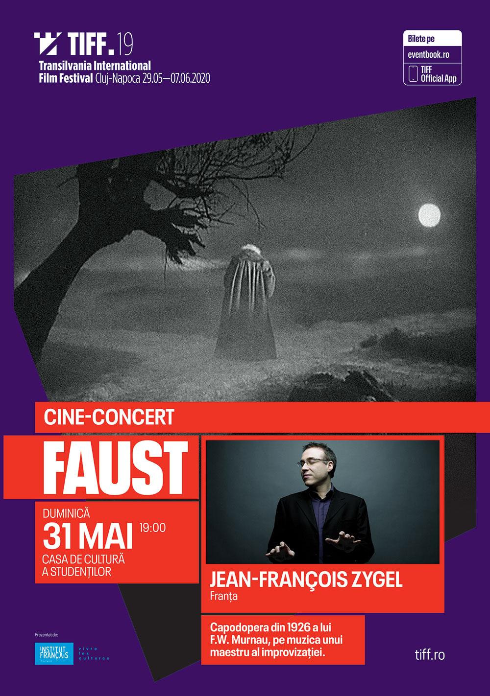 Cine-concerte de excepție la TIFF 2020: Faust și  Malombra