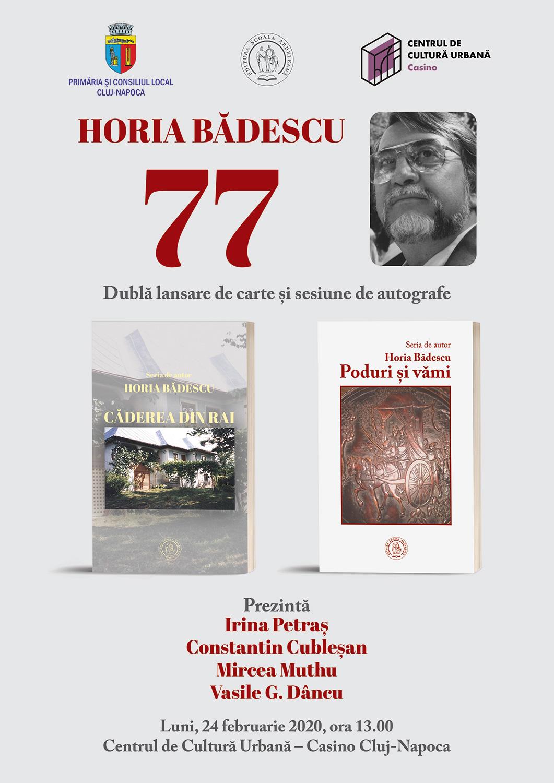 Horia Badescu, sărbătorit la împlinirea vârstei de 77 de ani