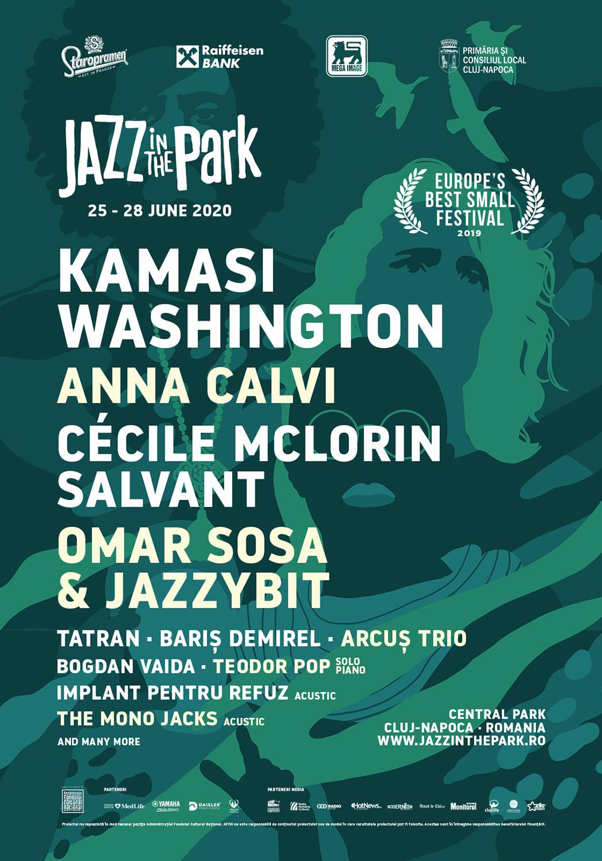 Kamasi Washington, Anna Calvi și Cècile McLorin Salvant – Pentru prima oară în România, la Jazz in the Park 2020