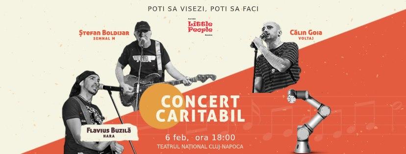 Primul concert din România dirijat de un roboțel are loc la Cluj-Napoca