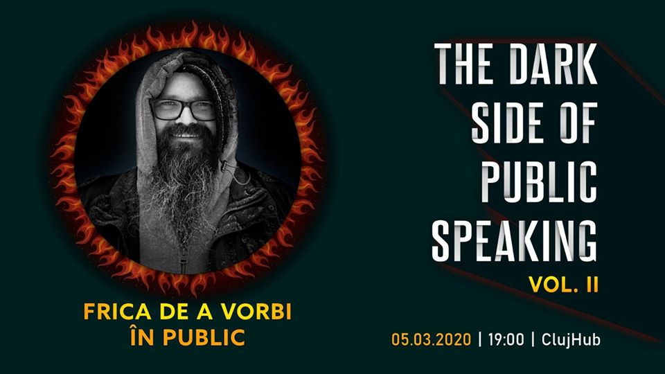 Dark Side of Public Speaking  –  Frica de a vorbi în public