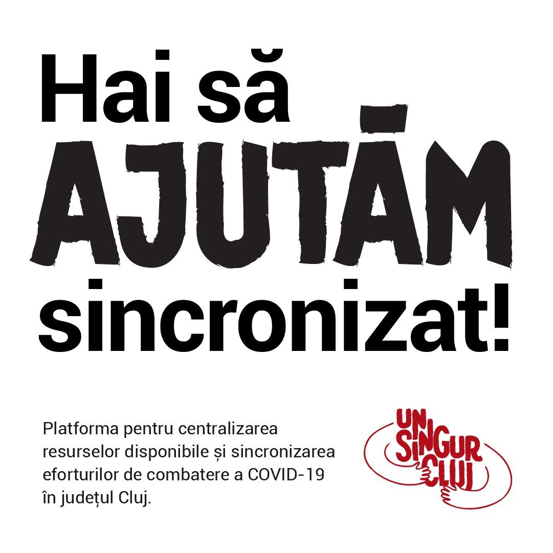 UnSingurCluj.ro: Clujul strânge rândurile în lupta împotriva coronavirus