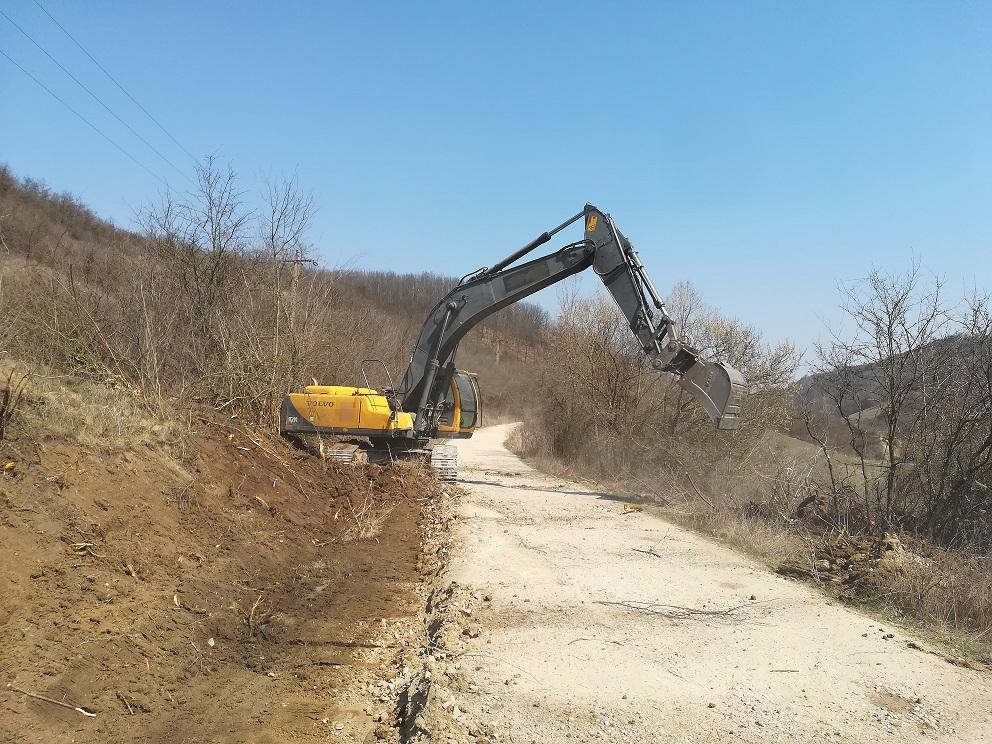 Au demarat lucrările pe drumul judeţean 109A (DJ 108B) – Ciubăncuța – Ciubanca – limită Sălaj