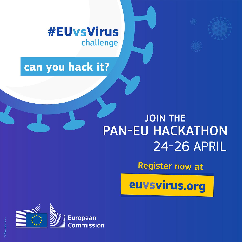 Hackathon pan-european de inovare anti – COVID-19
