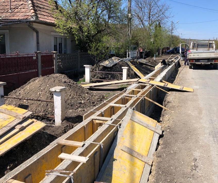 Lucrările de modernizare pe Drumul Bistriței avansează în ritm alert