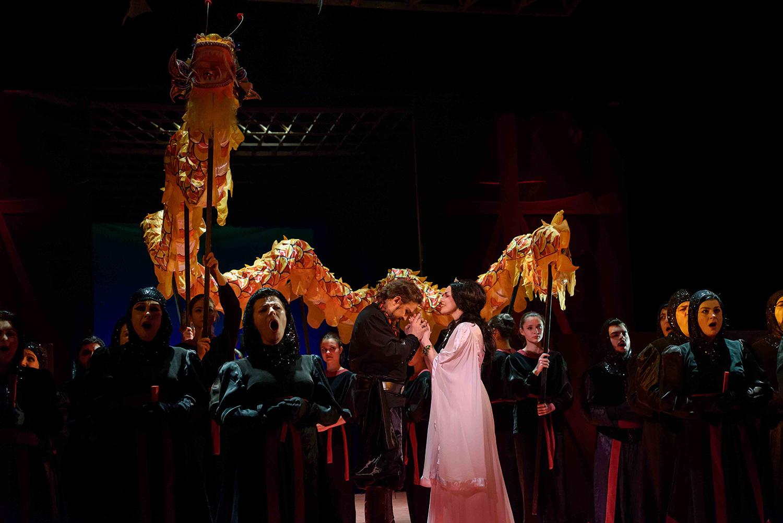 Opera Națională Română Cluj-Napoca transmite online Turandot de Giacomo Puccini