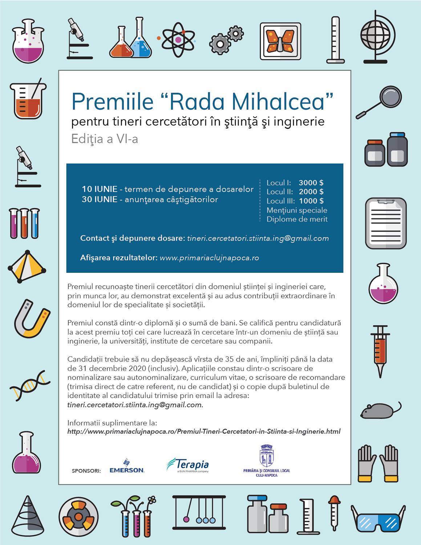 """Premiile """"Rada Mihalcea pentru Tineri Cercetători în Știință și Inginerie"""""""