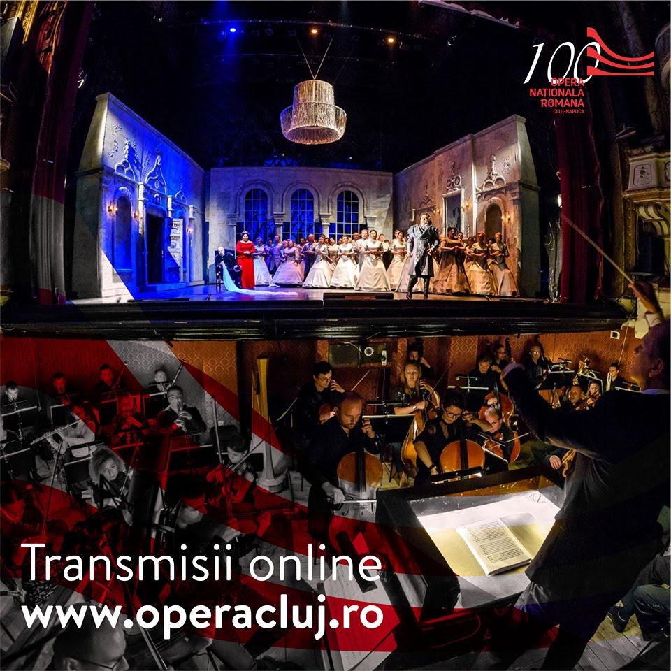 Transmisiile celor mai iubite spectacole de operă continuă până în luna mai