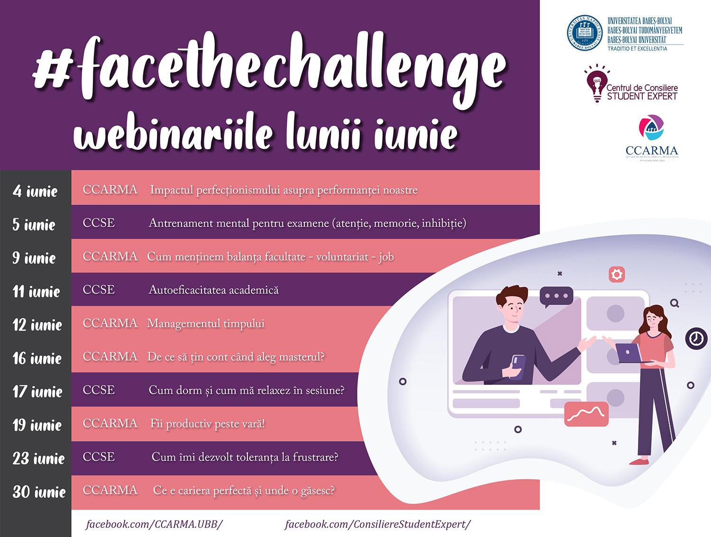 Face the challenge, programul prin care Universitatea Babeș-Bolyai își ajută studenții să facă față provocărilor generate de pandemie
