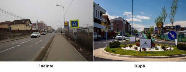 Strada Bună Ziua din Municipiul Cluj-Napoca a fost modernizată și redată circulației