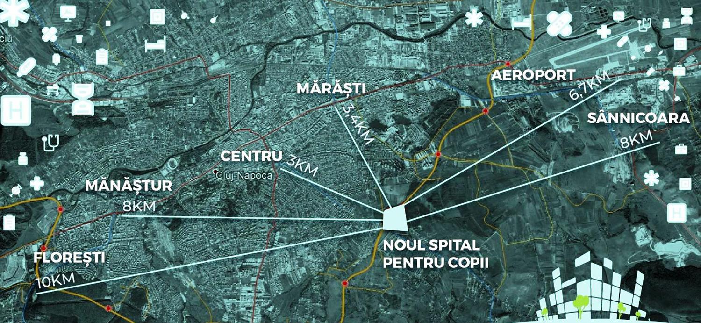 Consiliul Județean Cluj demarează construirea noului spital Pediatric Monobloc din Cluj
