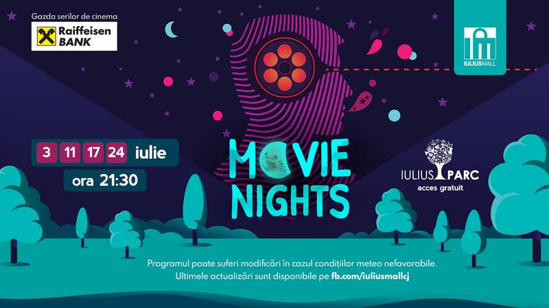 Movie Nights în Iulius Parc Cluj-Napoca