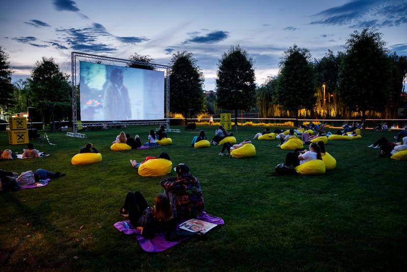 Movie Nights în Iulius Parc Cluj
