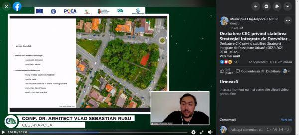 Regenerarea urbană în cartierele Municipiului Cluj-Napoca va avea la bază principiul calității vieții – concluzia primei consultări publice privind Stategia Integrată de Dezvoltare Urbană (SIDU) 2021-2030