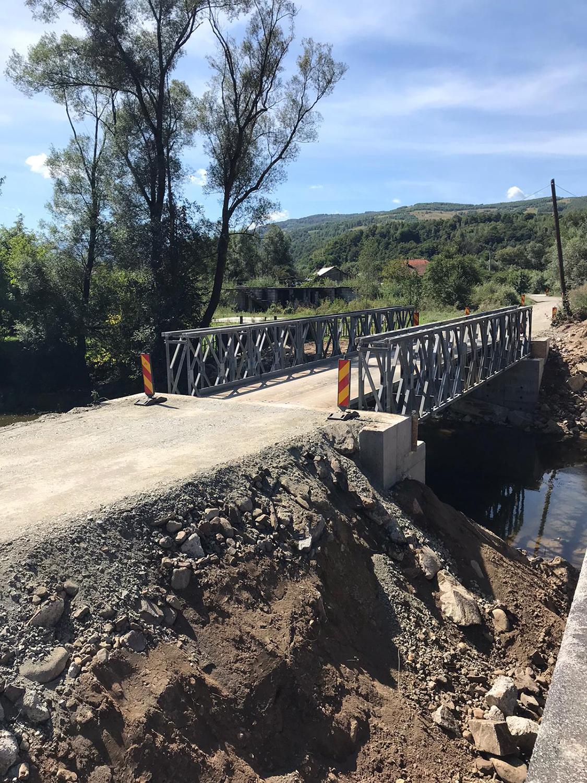 A fost redeschisă circulația rutieră pe drumul județean 764B Valea Drăganului
