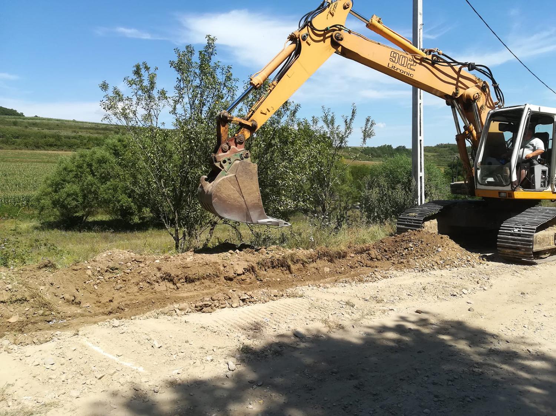 Drumul județean spre localitatea clujeană Roșieni va fi asfaltat