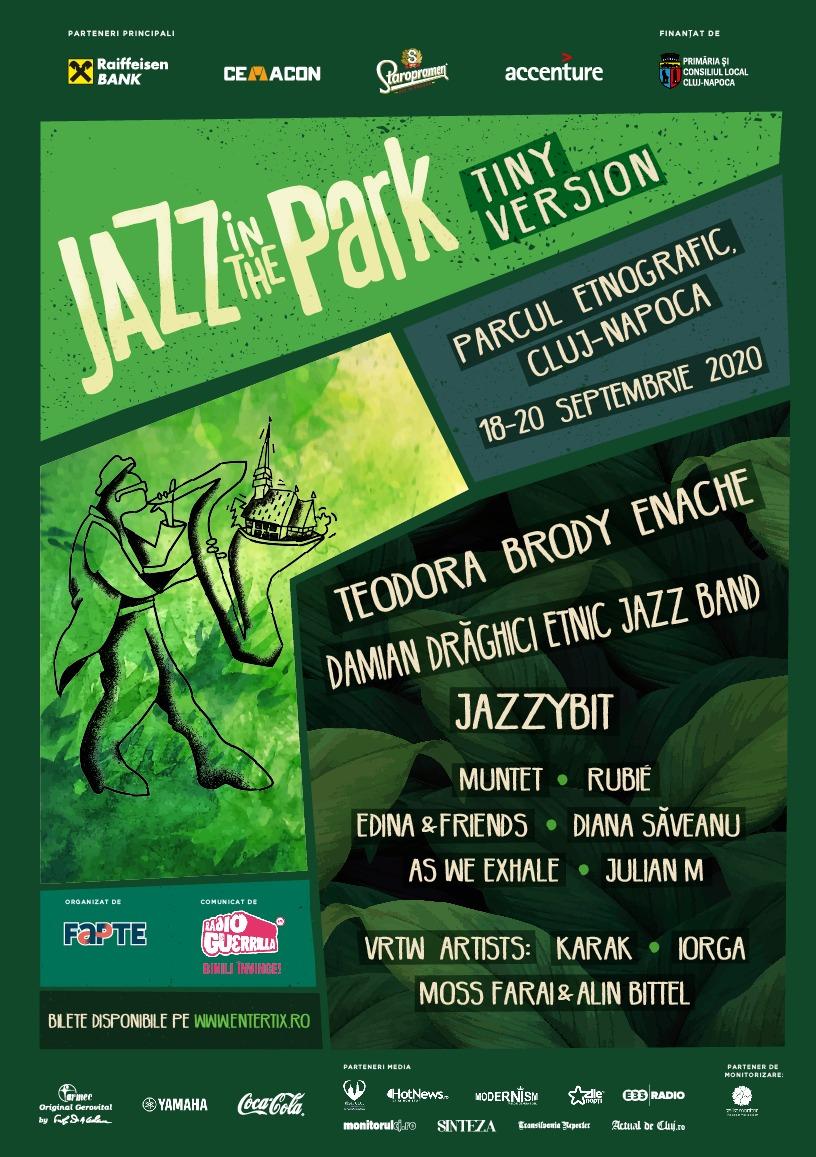 Jazz in the Park revine în toamnă cu o ediție restrânsă