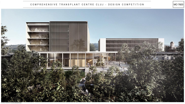 A fost anunțat câștigătorul Concursului Internațional de Soluții pentru Centrul Integrat de Transplant Cluj-Napoca