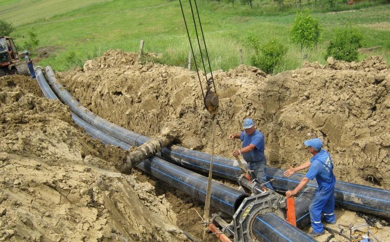 Investiție din bani europeni în extinderea sistemului de alimentare cu apă al comunei Chiuiești