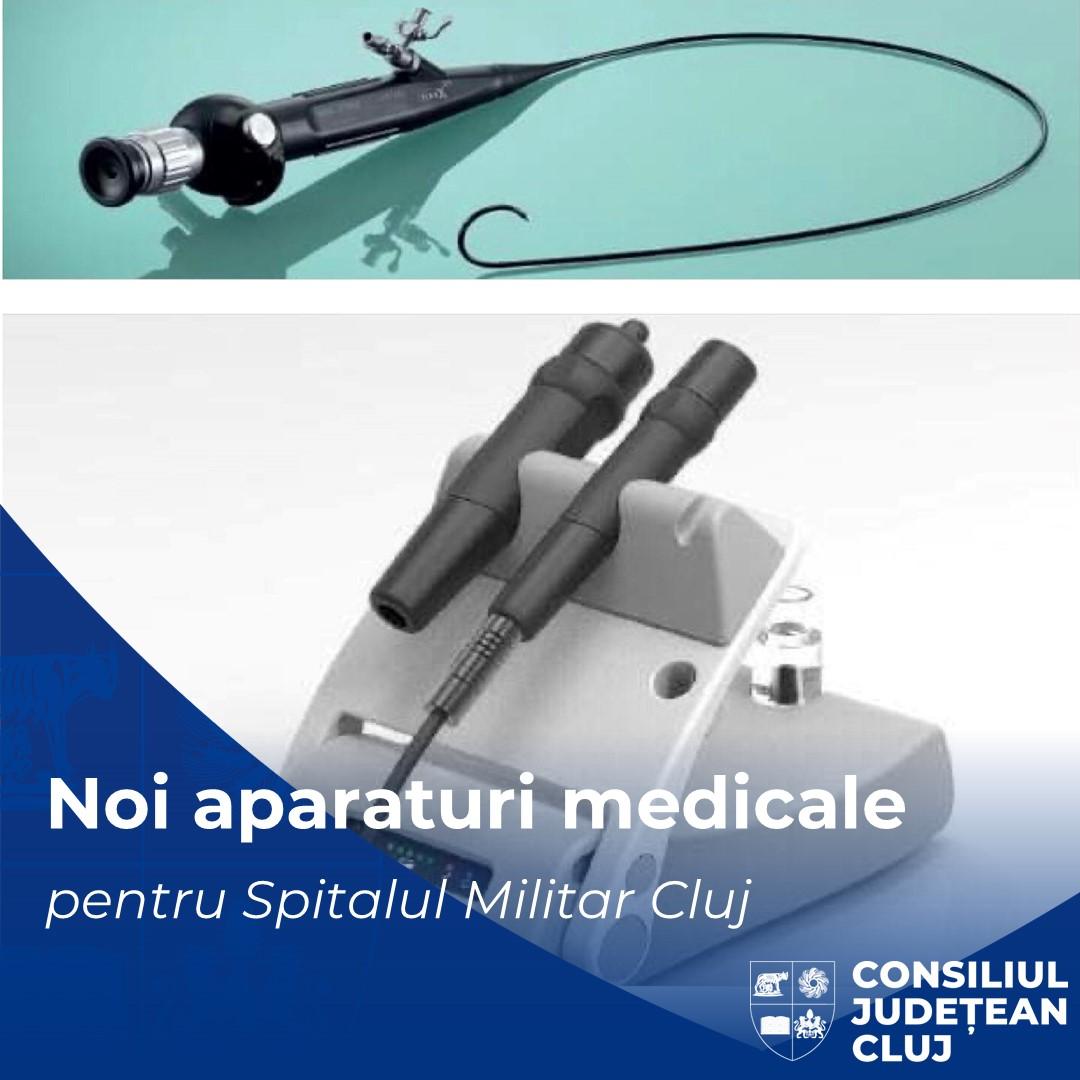 Consiliul Județean Cluj a achiziţionat noi aparaturi medicale pentru Spitalul Militar de Urgență Doctor Constantin Papilian