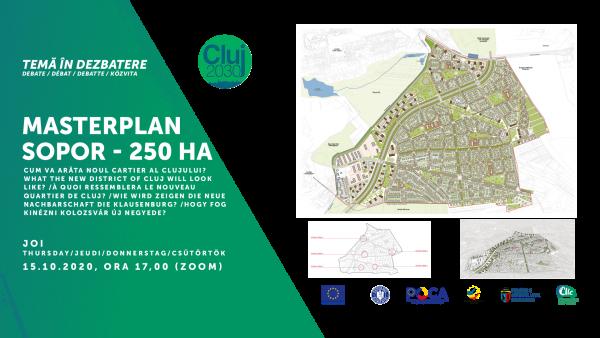Masterplanul viitorului cartier Sopor – un oraș în oraș va fi realizat pe bază principiilor transparenței și parteneriatului activ public-privat