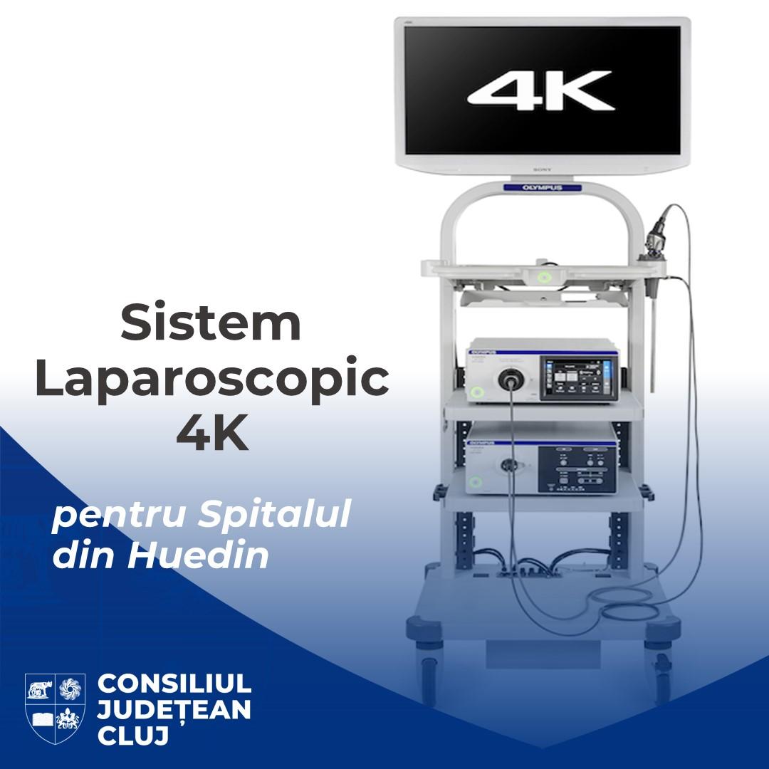 Un nou echipament ultramodern a fost achiziționat de Consiliul Județean Cluj pentru Spitalul Orășenesc Huedin