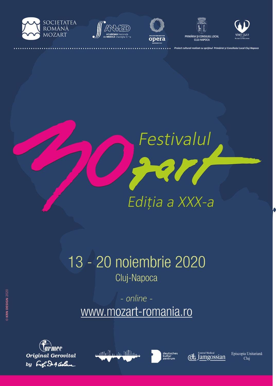 Ediția a XXX-a a Festivalului Internațional Mozart se va desfășura online