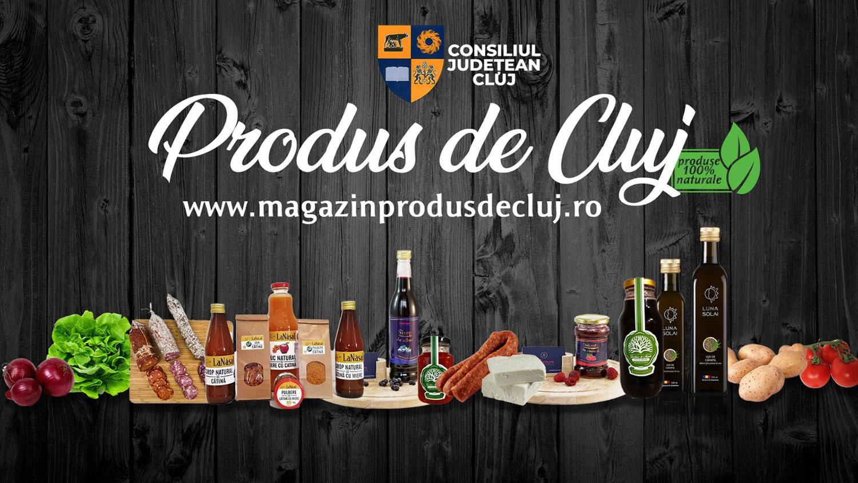 Magazinprodusdecluj.ro, lansat de Consiliul Județean Cluj pentru comercializarea produselor locale, tot mai solicitat
