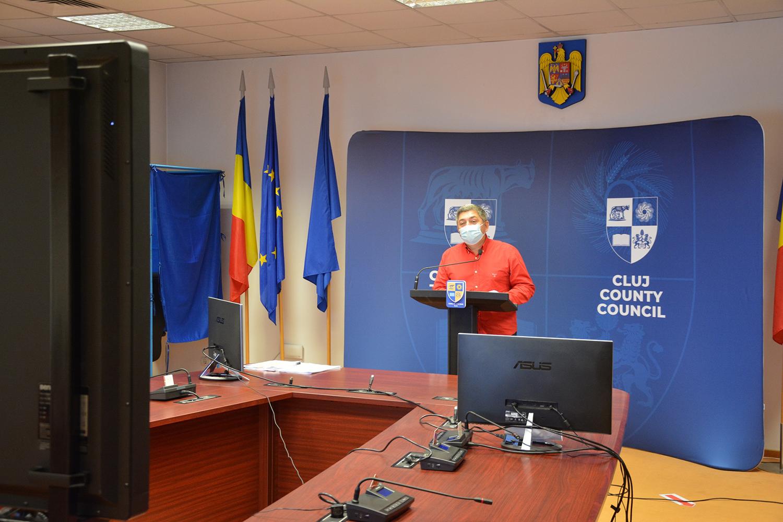 Președintele Consiliului Județean Cluj a prezentat proiectele prioritare ale actualului mandat