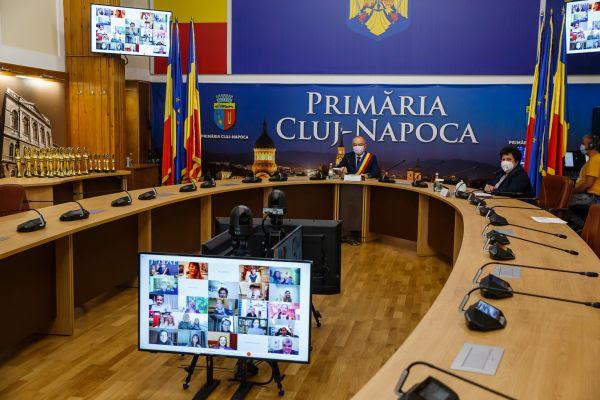 """Câștigătorii Galei de Excelență """"10 pentru Cluj"""""""