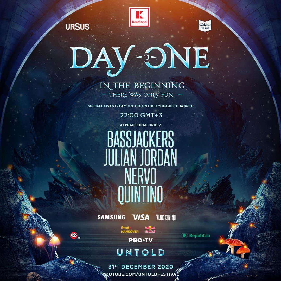 Day One – cel mai așteptat show de Revelion, oferit de UNTOLD, la PRO TV