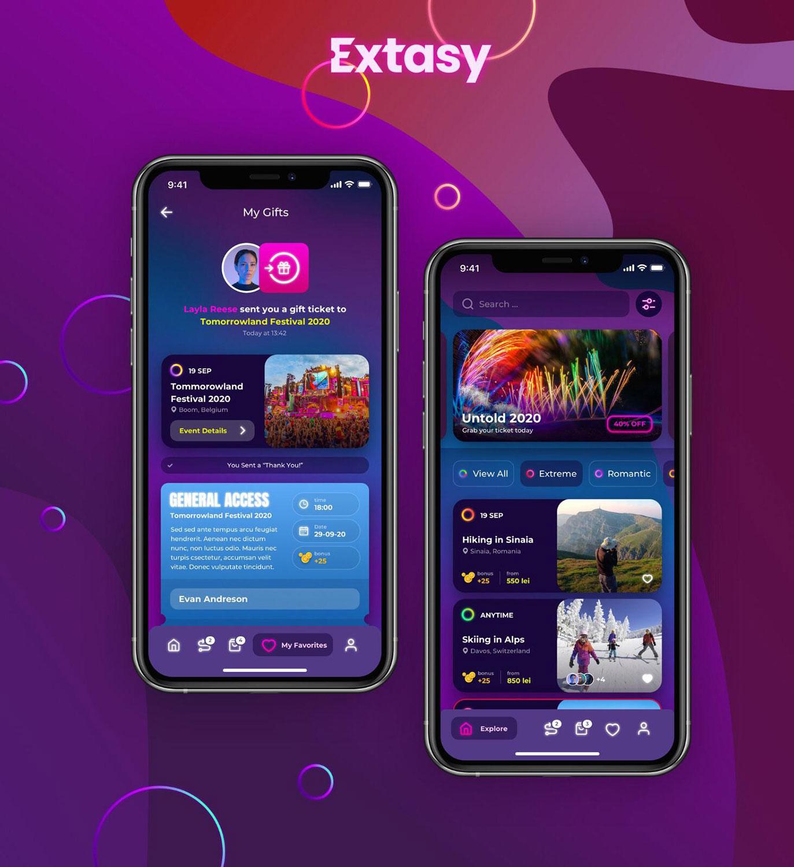 Extasy – prima aplicație din România dedicată exclusiv experiențelor spectaculoase