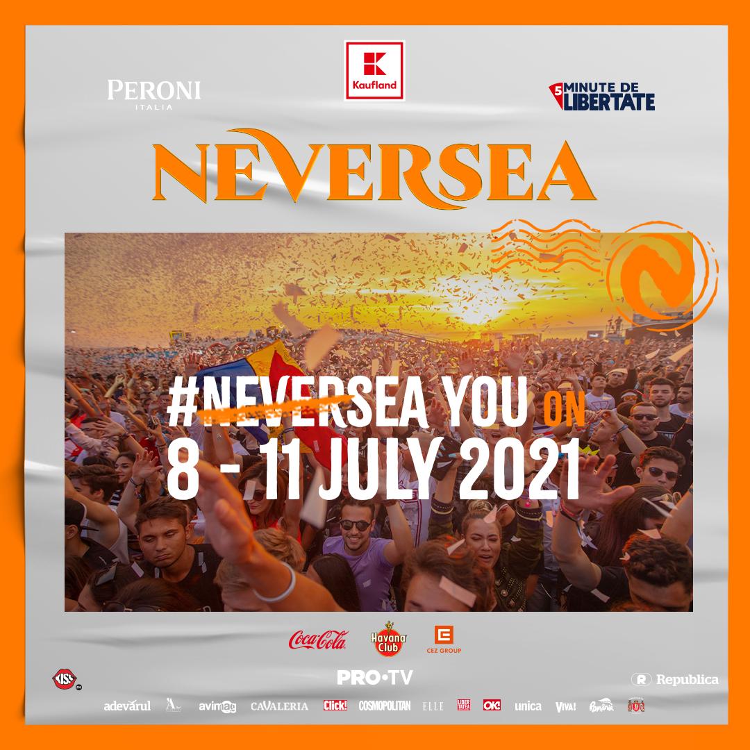 Neversea 2021 va avea loc în perioada 8-11 Iulie